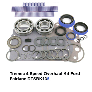Tremec 4 Speed Overhaul Kit Ford Fairlane DTSBK135